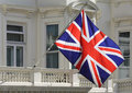 British flag Stock Photography