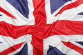 British Union Jack flag background Royalty Free Stock Photo