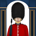 British Guard - Tongue Royalty Free Stock Images