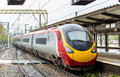 British high-speed train Royalty Free Stock Photo