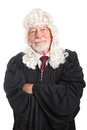 British Judge - Kind and Fair Royalty Free Stock Photo