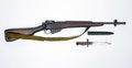 British Jungle Carbine Lee Enfield No.5 rifle Royalty Free Stock Photo