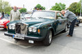 British luxury car rolls royce silver shadow ii berlin may th oldtimer tage berlin brandenburg may berlin germany Royalty Free Stock Image