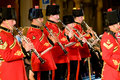 British military band Royalty Free Stock Images