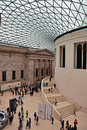 British Museum - The Great Court Stock Image