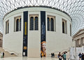British Museum Londres Fotografia de Stock Royalty Free