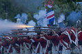 British Night Battle Royalty Free Stock Images