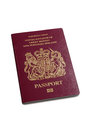 British passport Stock Photo