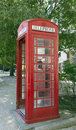 British phone booth avignon france june an in the streets of avignon Stock Photos