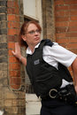 British Police Officer Royalty Free Stock Photos