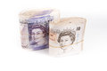 British pound bank notes Royalty Free Stock Photo