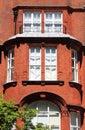 British red brick mansion Royalty Free Stock Photo