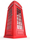 British red phone booth Stock Photos