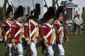 British Redcoats Royalty Free Stock Images