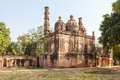 The british residency mosque at complex in lucknow india Royalty Free Stock Images