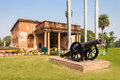 The british residency museum at complex in lucknow india Royalty Free Stock Images