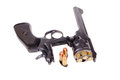British revolver antique webley mark vi Stock Image