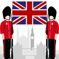 British Royal Guard Royalty Free Stock Photography