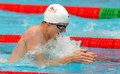 British swimmer Andrew Willis Stock Images