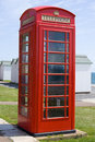 British Telephone Box Stock Images