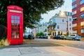British telephone box Royalty Free Stock Photo