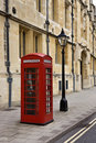 British Telephone Box - Great Britain Royalty Free Stock Photo
