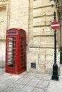 British telephone red cabin