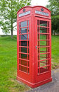British Traditional Red Telephone Box