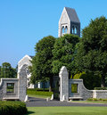 Brittany american cemetery and memorial main entrance to the chapel at the Stock Image