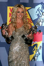 Brittany spears in the press room at the video music awards on mtv at paramount studios in los angeles ca on september Royalty Free Stock Photography