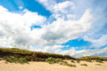 Brittas bay wicklow ireland a summer day at Stock Photo