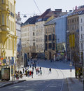 Brno city centre Royalty Free Stock Images
