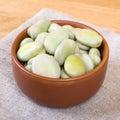 Broad bean. Royalty Free Stock Photo