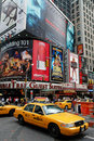 Broadway Avenue in New York Stock Photos