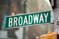 Broadway new york Immagine Stock