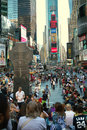 Broadway at Times Square New York Stock Image