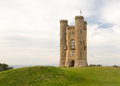 Broadway Tower in Cotswolds England Royalty Free Stock Photography