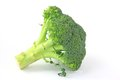 Broccoli against white background brassica oleracea var italica Royalty Free Stock Photography