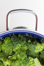 Broccoli bowl Royalty Free Stock Images
