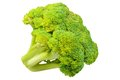 Broccoli cabbage ripe isolated on white background Stock Images