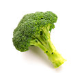 Broccoli fresh green isolated over white fresh vegetables Stock Image