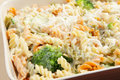 Broccoli and pasta bake Stock Image