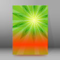 Brochure cover template vertical format glowing background09