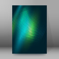 Brochure cover template vertical format glowing background20