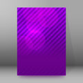Brochure cover template vertical format glowing background28