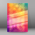 Brochure cover template vertical format glowing background12