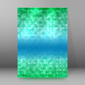 Brochure cover template vertical format glowing background06
