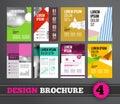 Brochure design mega set