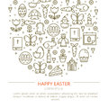 Brochure Easter with your text