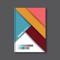 Brochure Flyer design vector template.